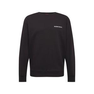 DENHAM Tréning póló 'THURMAN'  fekete / fehér