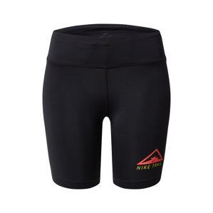 NIKE Sportnadrágok 'Nike Fast'  piros / fekete