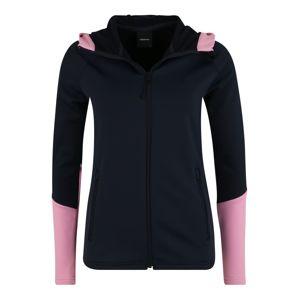 PEAK PERFORMANCE Sport szabadidős dzsekik 'RIDER ZIP'  sötétkék / rózsaszín
