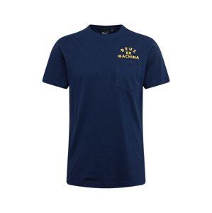 DEUS EX MACHINA Póló 'Roller Canggu Address Tee'  tengerészkék