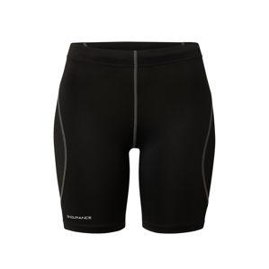 ENDURANCE Sportnadrágok  fekete / fehér