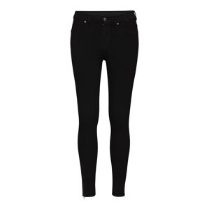 Dr. Denim Jeggings 'Domino'  fekete