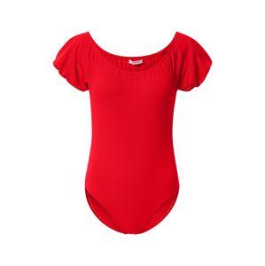 GLAMOROUS Blúz body  piros