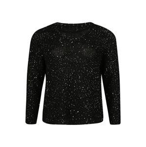 Vero Moda Curve Pullover 'NEWLEILANI'  fekete