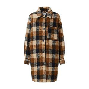 ICHI Átmeneti kabátok  krém / bronz / barna