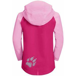 JACK WOLFSKIN Funkcionális dzseki 'Tucan'  világos-rózsaszín / sötét-rózsaszín