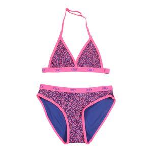 KIDS ONLY Bikini  rózsaszín / kék