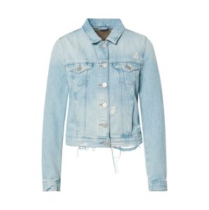True Religion Átmeneti dzseki 'DENIM JACKET DESTROYED LIGHT BLUE'  kék farmer