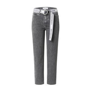 Calvin Klein Jeans Farmer  fekete melír