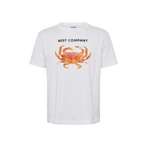 Best Company Póló 'Over Crab'  piros / fehér