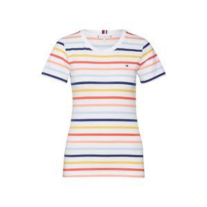TOMMY HILFIGER T-Shirt  vegyes színek / fehér