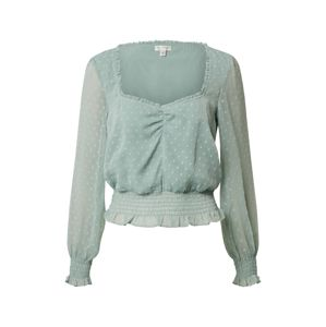 Miss Selfridge Blúz 'DOBBY SHIRRED'  menta