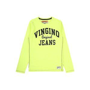 VINGINO Tréning póló 'Heffity'  sötétkék / neonsárga