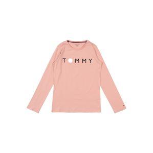 Tommy Hilfiger Underwear Ruhák alváshoz 'LS TEE LOGO'  rózsaszín