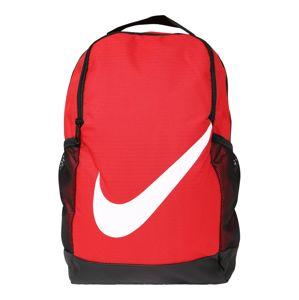 Nike Sportswear Hátizsák  piros / fekete / fehér