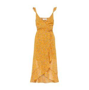 EDITED Nyári ruhák 'Inken'  mustár / kék / barna