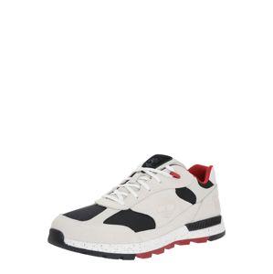 TIMBERLAND Rövid szárú edzőcipők 'Field Trekker'  piros / fehér / sötétkék