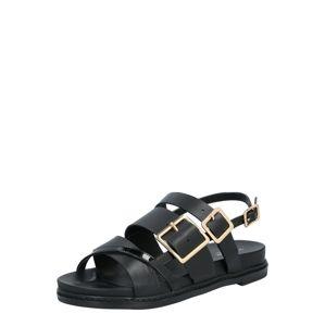 Shoe The Bear Pántos szandál 'JOY'  fekete