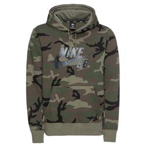 Nike SB Tréning póló  fekete / barna / khaki