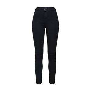 Missguided Jeggings 'VICE HIGHWAISTED SLASH KNEE SKINNY JEANS'  fekete farmer