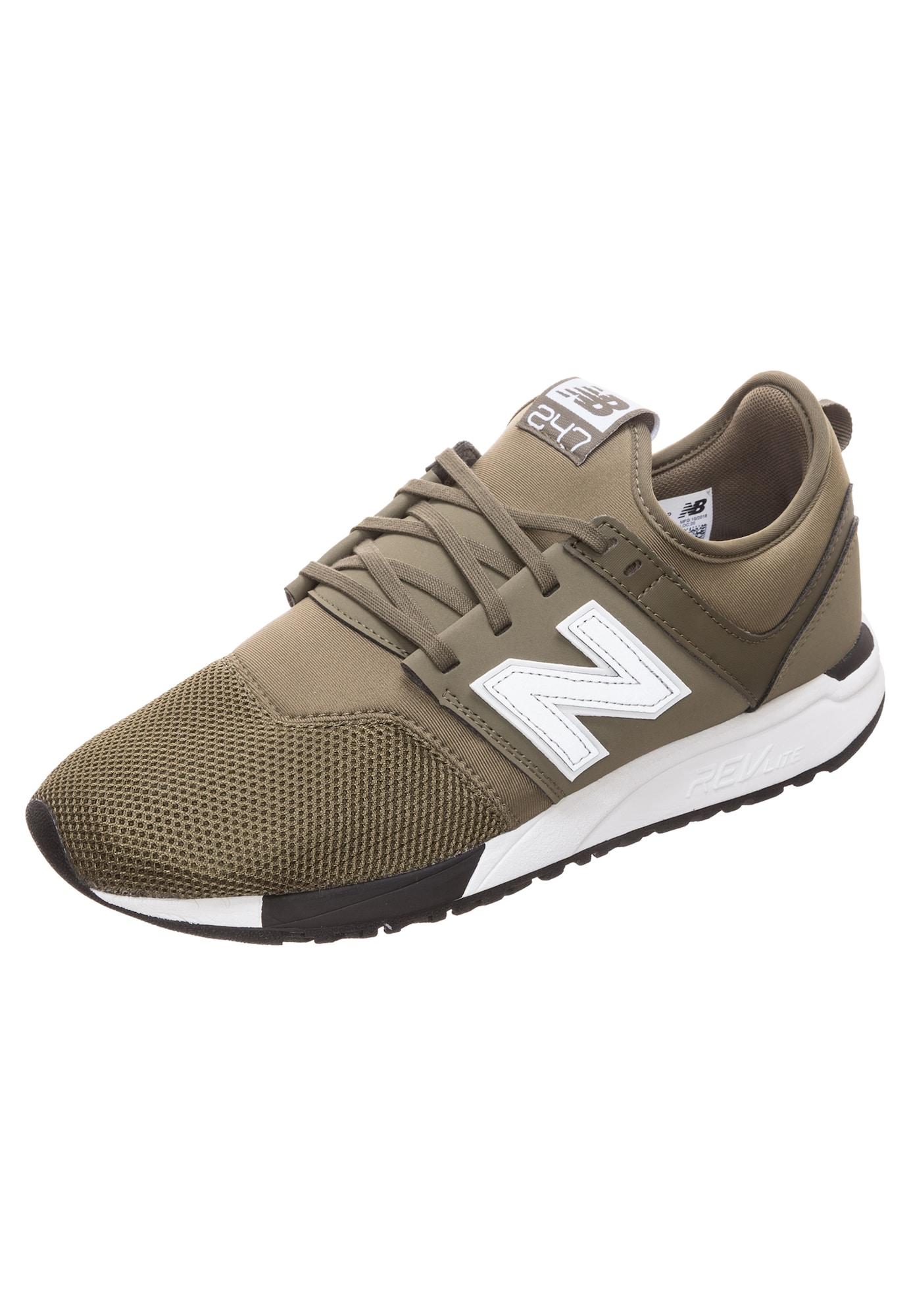 New Balance Rövid szárú edzőcipők  khaki / fehér
