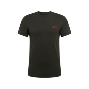 Barbour International Póló 'International Small Logo Tee'  sötétzöld