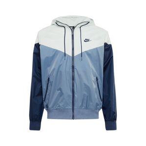 Nike Sportswear Tréningdzseki  füstkék / sötétkék