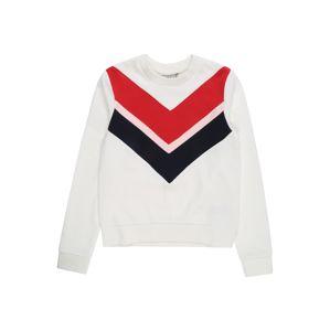REVIEW FOR TEENS Tréning póló 'TG-19-S103'  fehér / piros / fekete