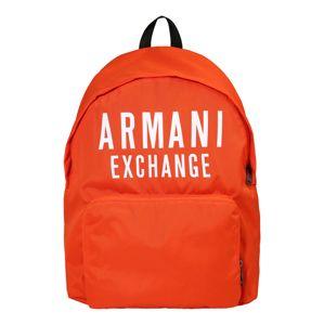 ARMANI EXCHANGE Hátizsák  narancs / fehér