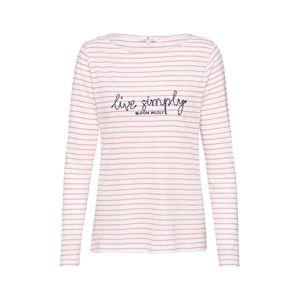 TOM TAILOR Shirt  rózsaszín / bézs