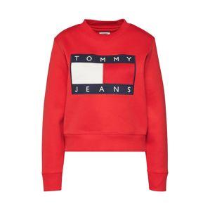 Tommy Jeans Tréning póló  fehér / piros / tengerészkék
