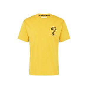 THE KOOPLES SPORT Póló  sárga / fekete