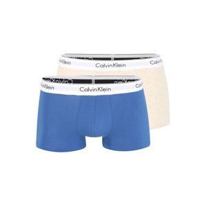 Calvin Klein Boxeralsók  kék / bézs