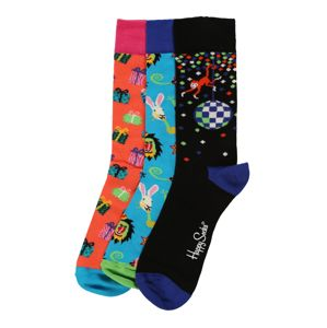 Happy Socks Zokni 'Happy Birthday Party Animal Gift Box'  vegyes színek