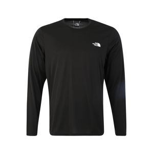 THE NORTH FACE Funkcionális felső 'Men's Reaxion Amp L/S Crew'  fekete