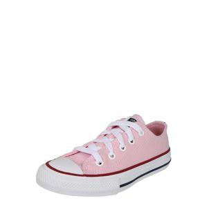 CONVERSE Sportcipő 'CHUCK TAYLOR ALL STAR TWISTED VARSITY - OX'  rózsaszín / fehér