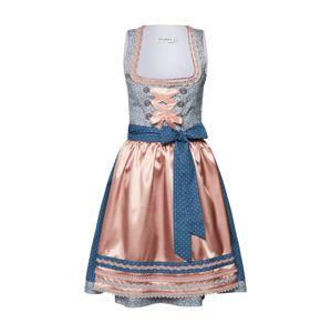 MONDKINI Dirndli  kék / fáradt rózsaszín