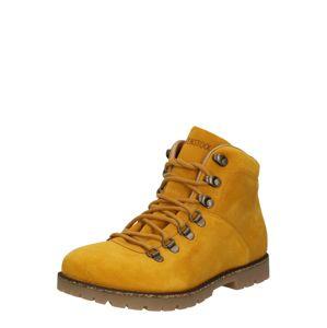 BIRKENSTOCK Fűzős cipő 'Jackson'  mustár