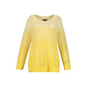 Ulla Popken Pulóver  sárga / világos sárga