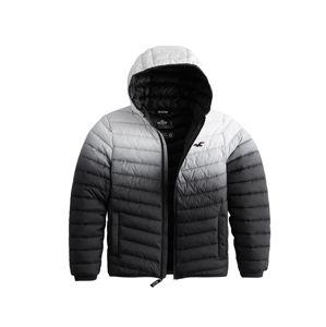 HOLLISTER Téli dzseki  fekete