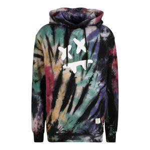 SikSilk Tréning póló 'Steve Aoki'  pitaja / vegyes színek / fekete / jáde / sötétlila