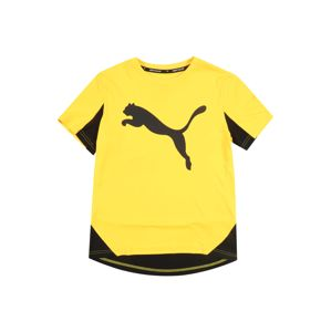 PUMA Funkcionális felső 'Active Sports Cat Graphic'  sárga