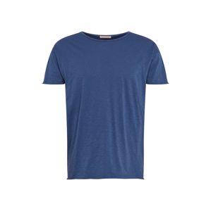 Nudie Jeans Co Póló 'Roger Slub'  kék