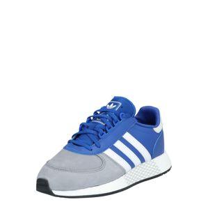 ADIDAS ORIGINALS Rövid szárú edzőcipők 'MARATHON TECH'  fehér / kék / szürke