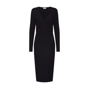 VILA Kötött ruhák 'Vichanne'  fekete