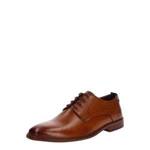 base London Fűzős cipő 'SCRIPT'  konyak