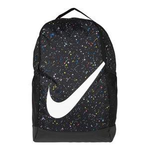 Nike Sportswear Hátizsák 'Nike Brasilia'  fekete / fehér