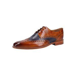 MELVIN & HAMILTON Fűzős cipő 'Martin 15'  tengerészkék / barna