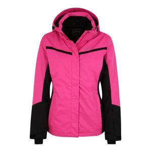 ICEPEAK Sport-Jacke 'FOWLER'  rózsaszín / fekete