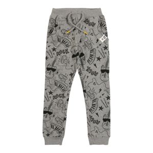 NAME IT Nadrág 'NMMDAROCKY SWEAT PANT UNB'  szürke melír